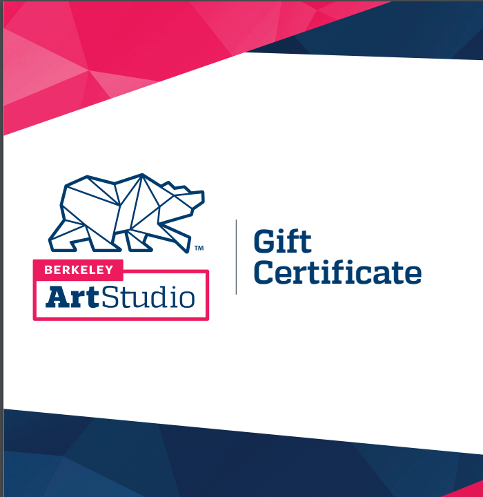 Support the Studio–buy gift certificates!