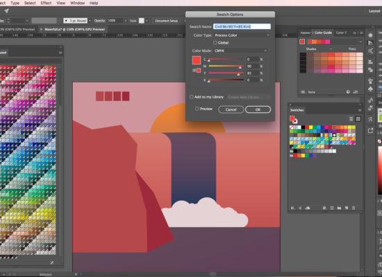 Graphic Design Fundamentals: Illustrator Focus