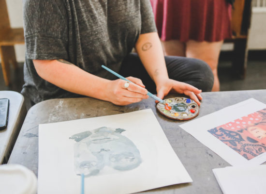 Painting with Water-Based Media