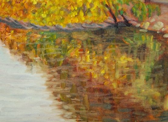 Landscape Painting in Oil
